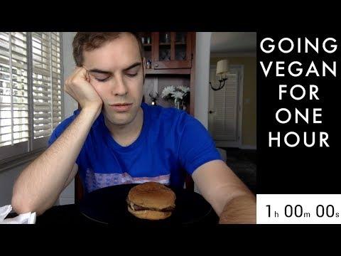 Going Vegan for 1 Hour