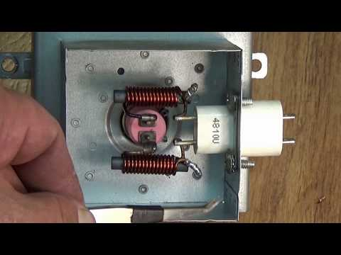Микроволновка ремонт магнетрона.