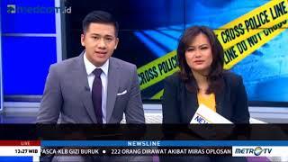 Novita Tandry Live Skype di Metro TV acara News Line topik Pulihkan Trauma Korban Kejahatan