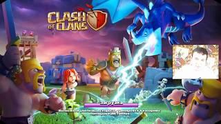 Clash of Clans Бои в деревне строителя  Миши это Круто!