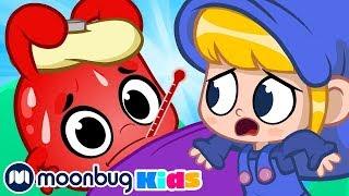 My Magic Pet Morphle - Morphle's Sick! | Full Episodes | Funny Cartoons for Kids | Moonbug Kids TV