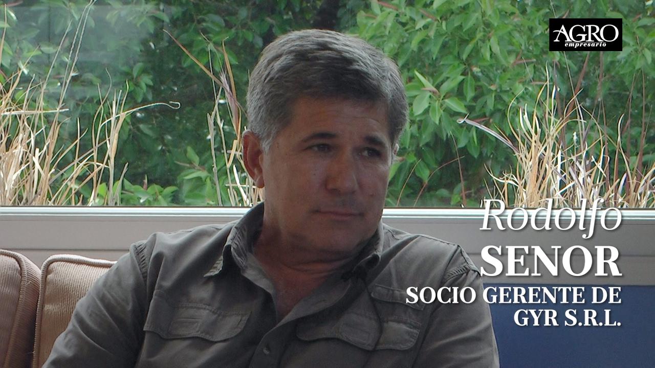 Rodolfo Senor - Socio Gerente de GYR S.R.L.