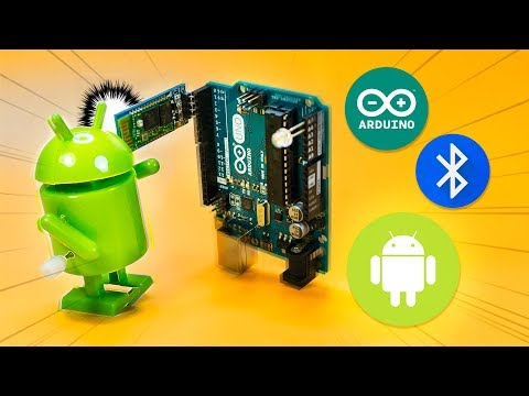 How to use HC-06 Bluetooth module for Arduino and Android. AT Commands, texting and LED demo