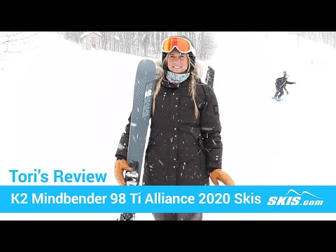 Video: K2 Mindbender 98 TI Alliance Skis 2020 21 50