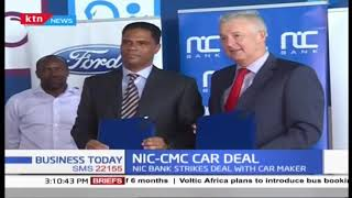 NIC, CMC Motors enter a car purchase deal