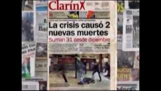 La Crisis Causó 2 Nuevas Muertes  Periodismo TP Síntesis Argumental