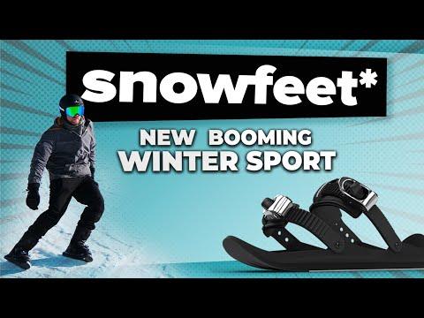 hqdefault - Snowfeet, un nuevo modo de esquiar