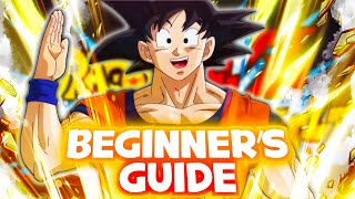 THE COMPLETE DOKKAN BATTLE BEGINNER'S GUIDE! (Table of Contents Included)