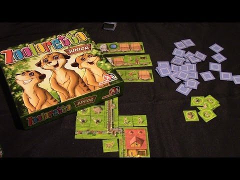 Jeremy Reviews It... - Zooloretto Junior Board Game Review
