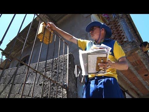 Longas andanças e sustos com cachorros: veja a rotina de um carteiro em Teresópolis
