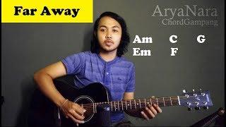 Chord Gampang (So Far Away - Avenged Sevenfold) by Arya Nara (Tutorial Gitar) Untuk Pemula