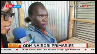 Chaos reported in Embakasi East after a voter picked ballot papers