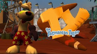 Clip of TY the Tasmanian Tiger