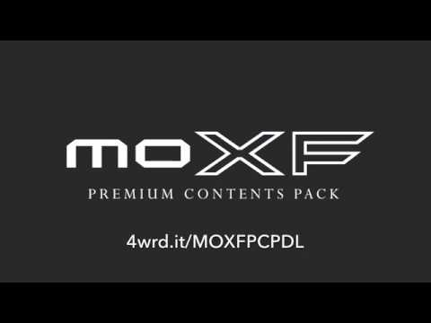 MOTIF Premium Contents Pack (PCP) for MOXF