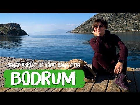 Kışın Bodrum da Olmak - Şenay Akkurt la Hayat Bana Güzel (travel vlog)