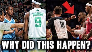 The History Between Chris Paul And Rajon Rondo | What Lead To The Fight?