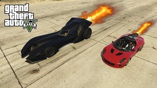 GTA V - WELKE IS SNELLER? ROCKET VOLTIC OF DE BATMAN AUTO?
