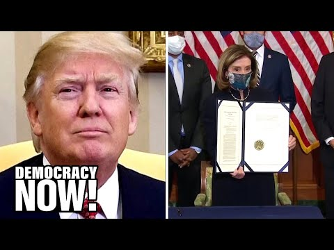 Constitutional Lawyer: Trump Is a Clear & Present Danger, a Senate Impeachment Trial Is Needed Now