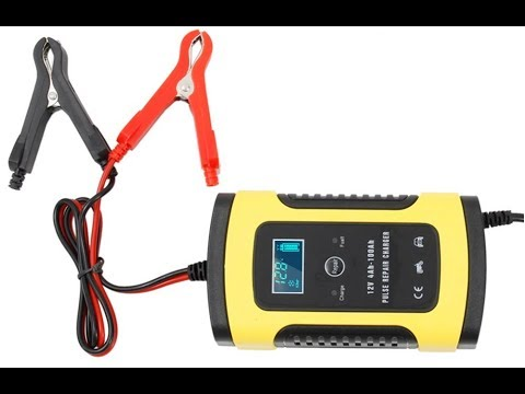 Автоматическое зарядное устройство для автомобиля и мотоцикла 12В