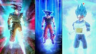 Goku-Vegeta (DBS) Transformations SSJ1-2-3-G-B-BE-KK-KKX10-KKX20-UI-MUI +New Animations and Auras 🔥