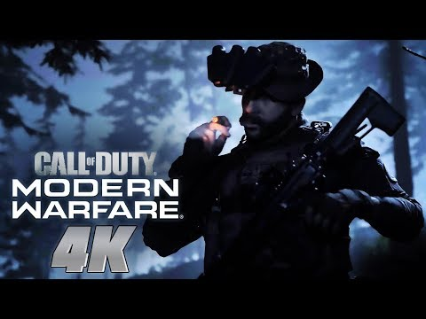 Call of Duty: Modern Warfare – Official 4K PC Reveal Trailer