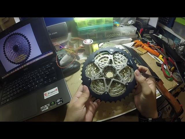 Видео Кассета Shimano Deore CS-HG500-10 12-28