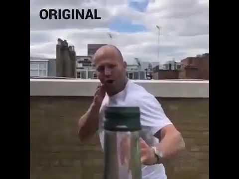 Jason Statham's bottlecapchallenge was FAKE!! (100% PROOF)