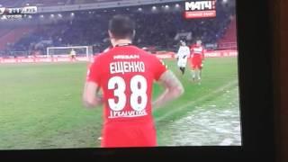Спартак рубин промес красная карточка!!!!!!