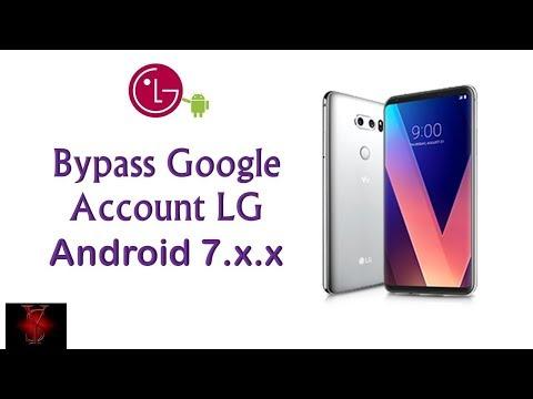New Methoed Bypass google account on LG Phones android 7| NO LDB usb