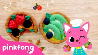 How to make Tarte 🥧 with Clay   Clay Bakery   Pinkfong Clay Time