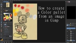 How To Create A Color Pallet From An Image In Gimp