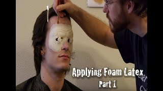 Foam Latex Makeup Application - Part 1