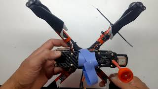 Drone racer com motor de mavic unico do youtube !!!!!!