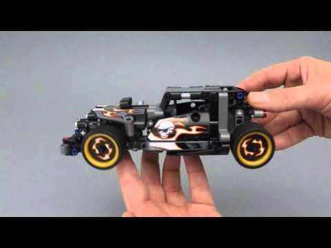 Vidéo LEGO Technic 42046 : La voiture du fuyard