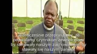 Ks. John Bashabora modli się w Twojej intencji