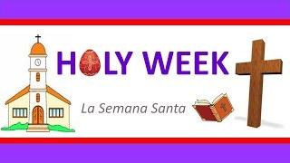 Vocabulario de Semana Santa en Inglés   Holy Week   English Vocabulary