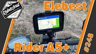 Motorrad Navigationsgerät Elebest Rider A5+ | #248