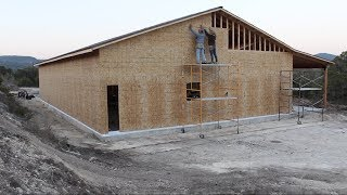 Building A Shop - Roofing and Walls