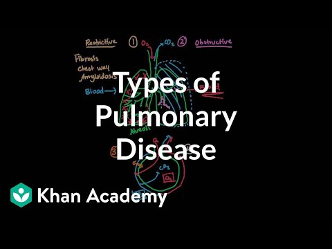 Video Types of pulmonary diseases | Respiratory system diseases | NCLEX-RN | Khan Academy