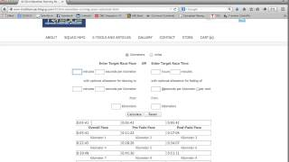 Marathon Running Calculator | FREE to use tool for Runners | Tutorial Video