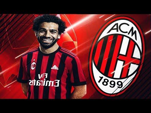 Transfer Mohamed Salah Semneaza cu Ac Milan 105.000.000Euro    FIFA 19 Romania Ac Milan #1