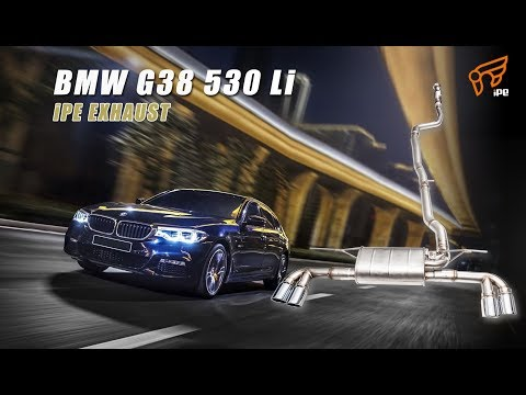The iPE Exhaust for BMW 530Li (G38)