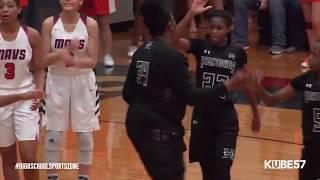 Hightower vs Manvel Girls Basketball 1-12-19