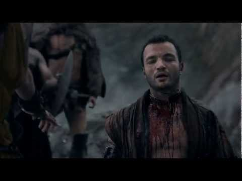 Spartacus Vengeance - Ashers Death - One of The Best Death Scenes of A Vilain ever Filmed!!
