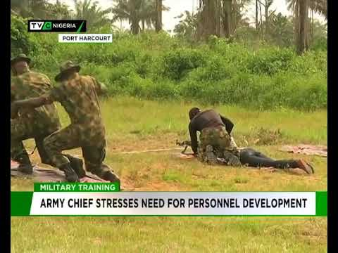 Nigerian Army stresses need for Personnel Training