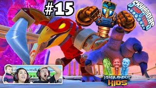 Lets Play Skylanders Trap Team: Chapter 15 - Skyhighlands w/ Tae Kwon Crow (Dad & Mom Face Cam)