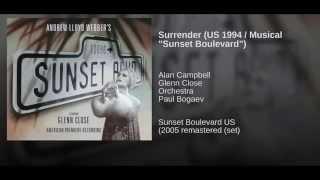 "Surrender (US 1994 / Musical ""Sunset Boulevard"")"
