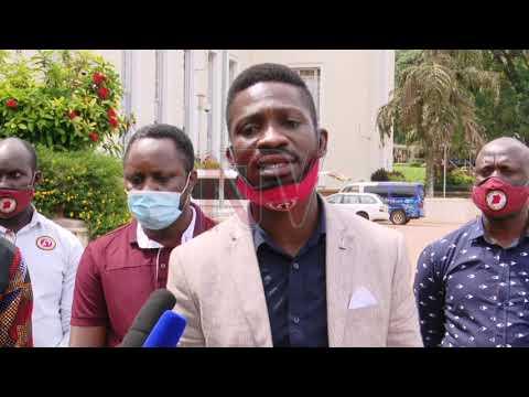 Bobi Wine aduukiridde abataka b'obusolya