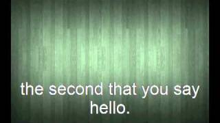 The second that you say - Chase Coy (Lyrics)