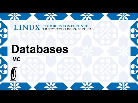 LPC2019 - Databases - MC